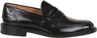 Luxury Fashion | Tricker's Men JAMESBLACK Black Leather Loafers | Spring-summer 20