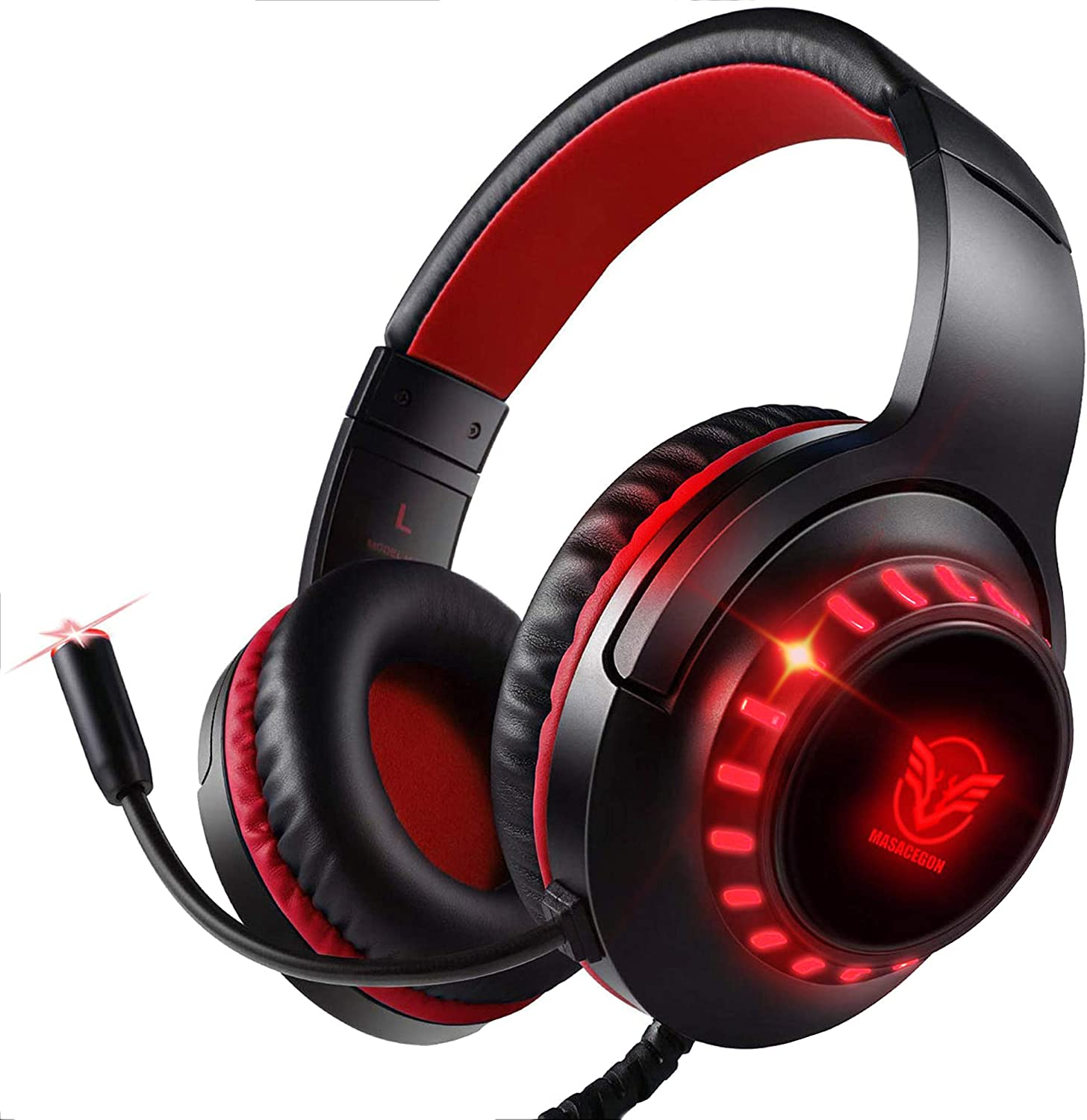 Pacrate Gaming Headset Max 50% OFF with Microphone ! Super beauty product restock quality top! PC Laptop PS4 for