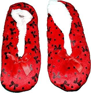 ZACHARIAS Girl's Indoor Winter Woolen Furr Slippers Socks