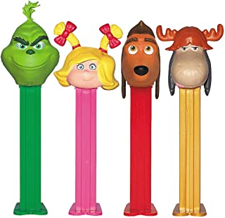 Pez Grinch Gift Tin - Celebrates Dr. Suess Christmas Book & Holiday Special
