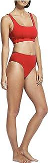 Seafolly Women's Clean Finish Wide Side Bikini Bottom Swimsuit Bikini Bottoms