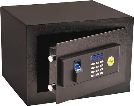 Cofre Standard Home Biometria, Yale 05577000-7, Preto