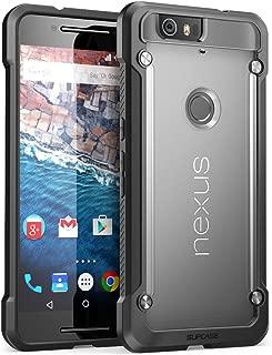 Nexus 6P Case, SUPCASE Google Nexus 6P Case Cover (2015 Release) Unicorn Beetle Series PremiumSlim Hybrid Protective Case/Bumper (Frost/Black)