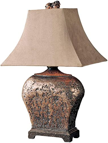 new arrival Uttermost Xander discount Distressed Bronze Table outlet sale Lamp online
