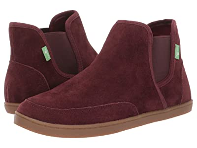 Sanuk Pair O Dice Mid Suede (Bitter Chocolate) Women