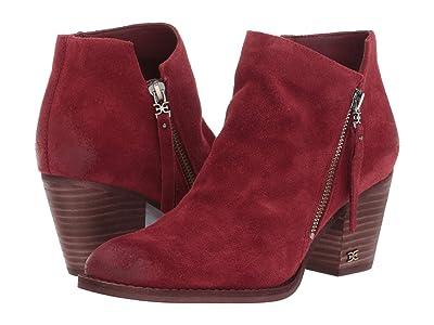 Sam Edelman Macon (Spiced Mahogany Resinato Velutto Suede Leather) Women