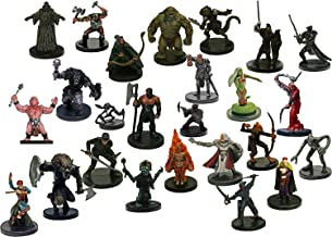Dungeons and Dragons 10 Assorted D&D Miniatures Figures