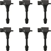 BOXI Pack of 6 Ignition Coils Fits 02-04 Infiniti I35/02-03 QX4, 02-06 Nissan Altima/05-13 Frontier/02-08 Maxima/03-07 Murano/12-13 NV 1500/02-04 Pathfinder/04-09 Quest/05-13 Xterra 22248-8J115