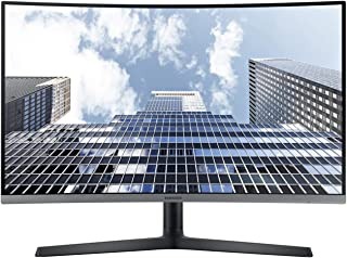"""Samsung 27"""" Curved Full HD Professional Monitor with USB-C Black Silver-LC27H800FCM"""