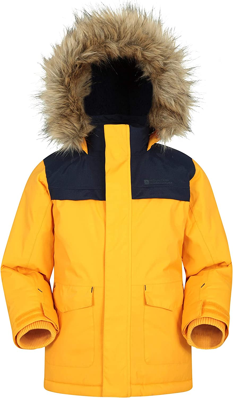 Mountain Warehouse Waterproof Kids Parka W オープニング 大放出セール - 売れ筋ランキング Seams Jacket Taped