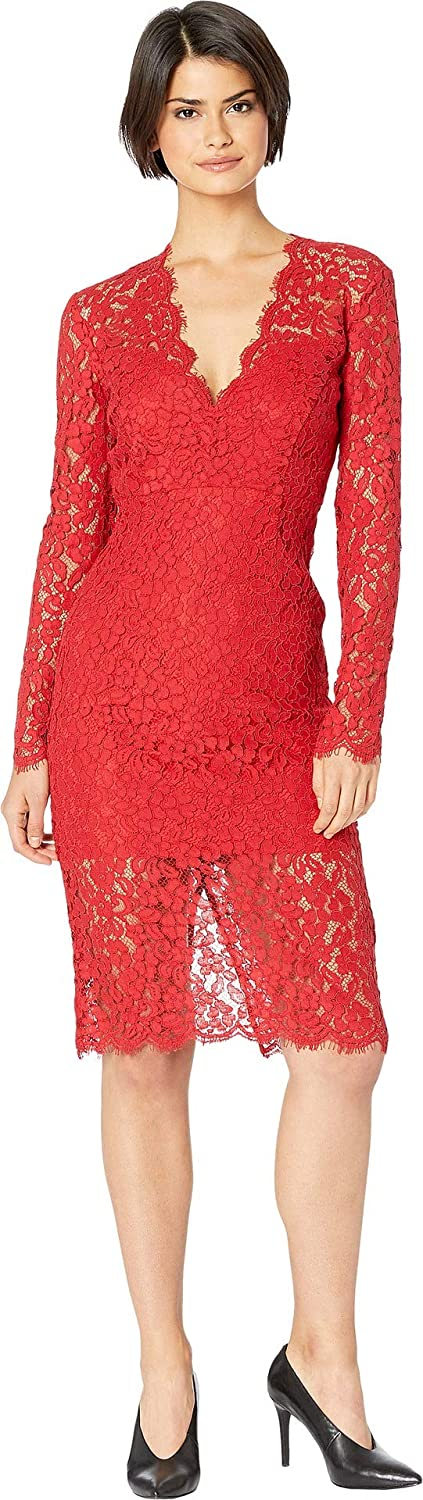 Bardot Womens Midnight Lace Dress Special Occasion Dress