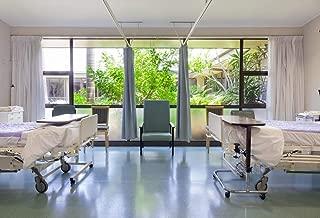 Hospital Room Backdrop for Photography Studio Beds Medical Equipment Healthcare Scene Digital Photo Background 7x5 ft 777