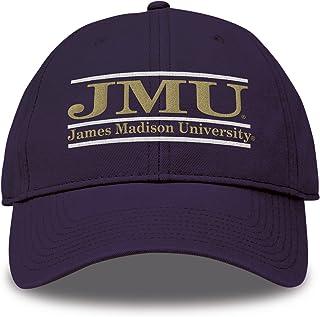 The Game Split Bar Design Trucker Mesh Hat, Purple, Adjustable, James Madison Dukes