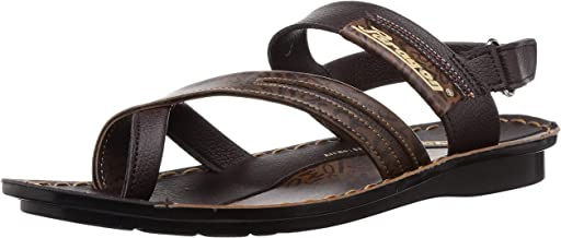 PARAGON Men's Brown Sandals-8 UK/India (42 EU)(PU8850-30)