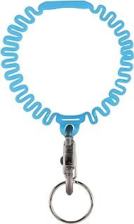 Nite Ize Key Band-It, Stretch Wristband Key Chain With S-Biner Clip, Blue