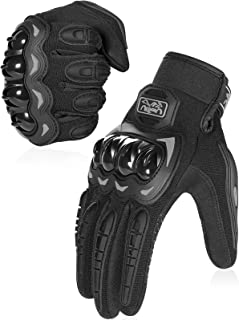 COFIT Motorcycle Gloves for Men and Women, Full Finger Touchscreen Motorbike Gloves for BMX ATV MTB Riding, Road Racing, Cycling, Climbing, Motocross etc