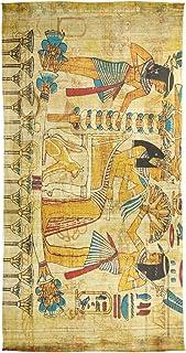XiangHeFu Scialle scialle in chiffon avvolgente in chiffon con sciarpone in papiro egiziano magro scialle