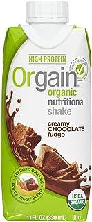 Orgain Nutrition Shake - Chocolate Fudge - 11 oz - 4 ct