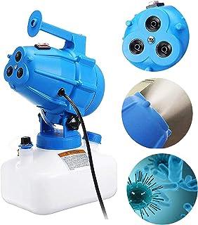 TOPQSC Pulverizador Desinfectante Eléctrico, ULV 5L 3 Agujeros Nebulizador Atomizador portátil Volumen Pulverizador Soplad...