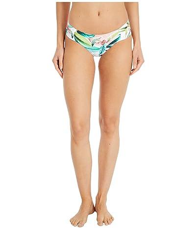 Trina Turk Costa De Prata Reversible Side Shirred Hipster Bikini Swimsuit Bottoms (Multi) Women