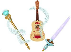 Elena Of Avalor Triple Power Pack (Guitar, Sword, Scepter) Toy (Amazon Exclusive)