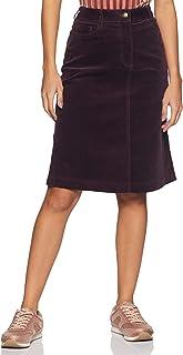 Marks & Spencer Cotton a-line Skirt