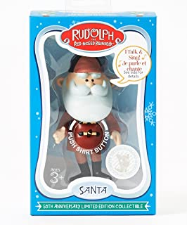 Rudolph the Red Nosed Reindeer, 50th Anniversary Limited Edition Collectible Talking Santa