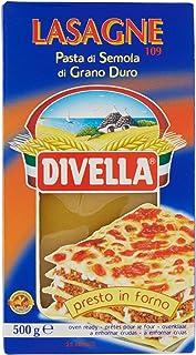 Massa Divella Nº 109 Lasagne Semola