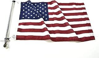 caravan flag pole clamp