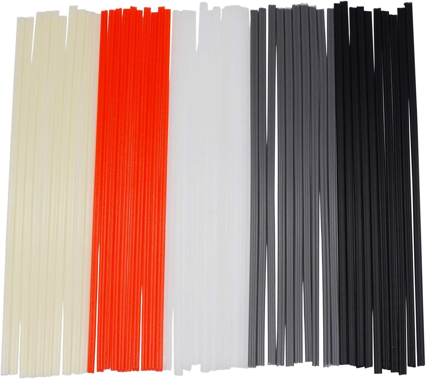 New sales EGSTAOR 50PCS Plastic Welding Rods New sales - PVC PP Ro PE Welder