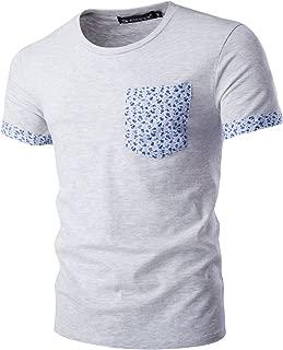 Best mens floral pocket t shirt Reviews