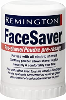 Remington SP-5 Pre-Shave Talc Stick Face Saver For all Men's Shavers, Net Weight. 2.1 Ounce/ 60 g (Pack of 6)