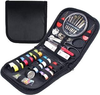 Kit de Costura de 72 Piezas Con Mini Maleta y Accesorios Avanzados de Costura que Incluyen 14 Carretes y 30 Agujas de Cose...