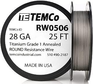 titanium wire for anodizing