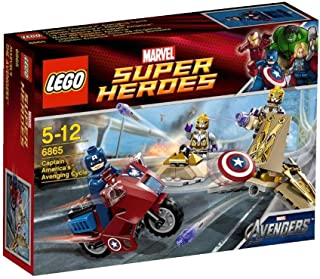 LEGO Super Heroes 6865 - Captain America's Avenging