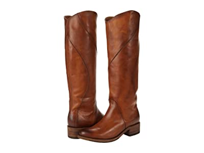 Frye Diana Seam Tall (Caramel Antique Pull-Up) Women