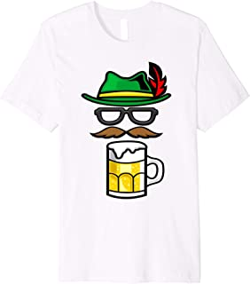 Funny Oktoberfest Shirt - Bavarian Alpine Hat Beer T-shirt