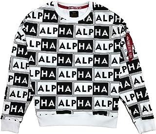 ALPHA INDUSTRIES Men's Aop Os Sweater Sweatshirt