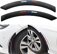x xotic tech M Color Sporty Soft Fender Flare Arch Wheel Eyebrow Protector Strip for BMW E30 E36 E39 E46 E60 E61 E70 E82 E90 E91