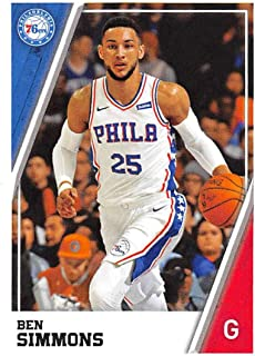 2018-19 Panini NBA Stickers Collection #173 Ben Simmons Philadelphia 76ers Official Basketball Sticker (2 in x 2.75 in)