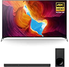 $2296 » Sony XBR-65X950H 65 Inch TV: 4K Ultra HD Smart LED TV with HDR and Alexa - 2020 Model Bundle with 3.1-Channel Dolby Atmos and DTS:X Soundbar (2 Items)