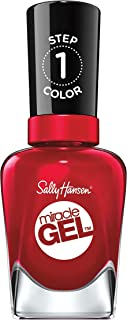 Sally Hansen Miracle Gel Nail Polish, Rhapsody Red