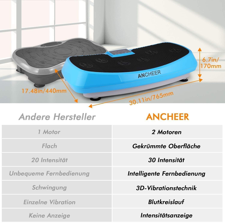 Messe-Neuheit Vibrationsplatte Fitness Fläche Ganzkörper Trainingsgerät  3D ~