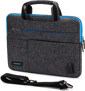 DOMISO 10,1 – 10,5 pollici, impermeabile, borsa a tracolla con porta di ricarica USB per Samsung Galaxy Tab / 9,7 pollici ...