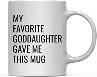 -11 Oz Mug-Gifts For Godfather From Goddaughter Thank You For.. Dear Godfather