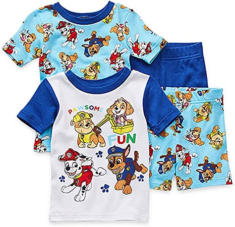 Details about  /Nickelodeon Paw Patrol Toddler Boy Long Sleeve Christmas Pajamas New 4T