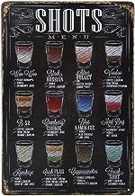 Poster Métallique Affiche Peinture Art Décoratif Vintage pour Bar Café Pub 20cmx30cm Bière #1