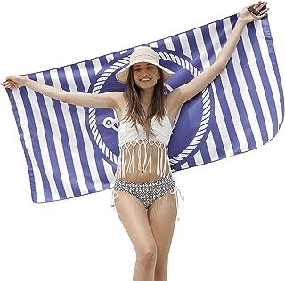 EPEIUS ビーチタオル バスタオル 砂浜 速乾マット 超吸水力 海水浴 多用途 オシャレ カラフル 選べるカラーバリエーション 160×75cm(E2)
