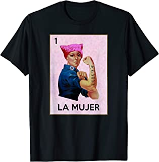 Rosie the Riveter La Mujer Lottery T Shirt