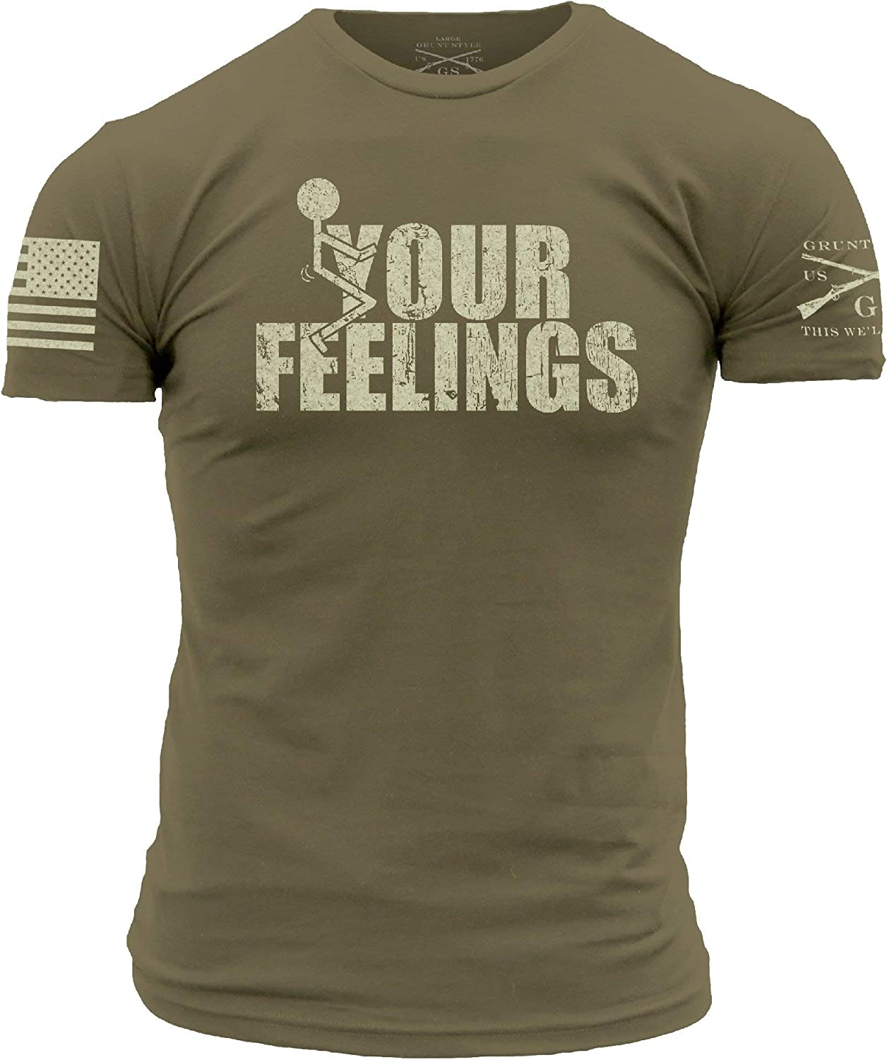 store Grunt Style Your Feelings T-Shirt Oakland Mall
